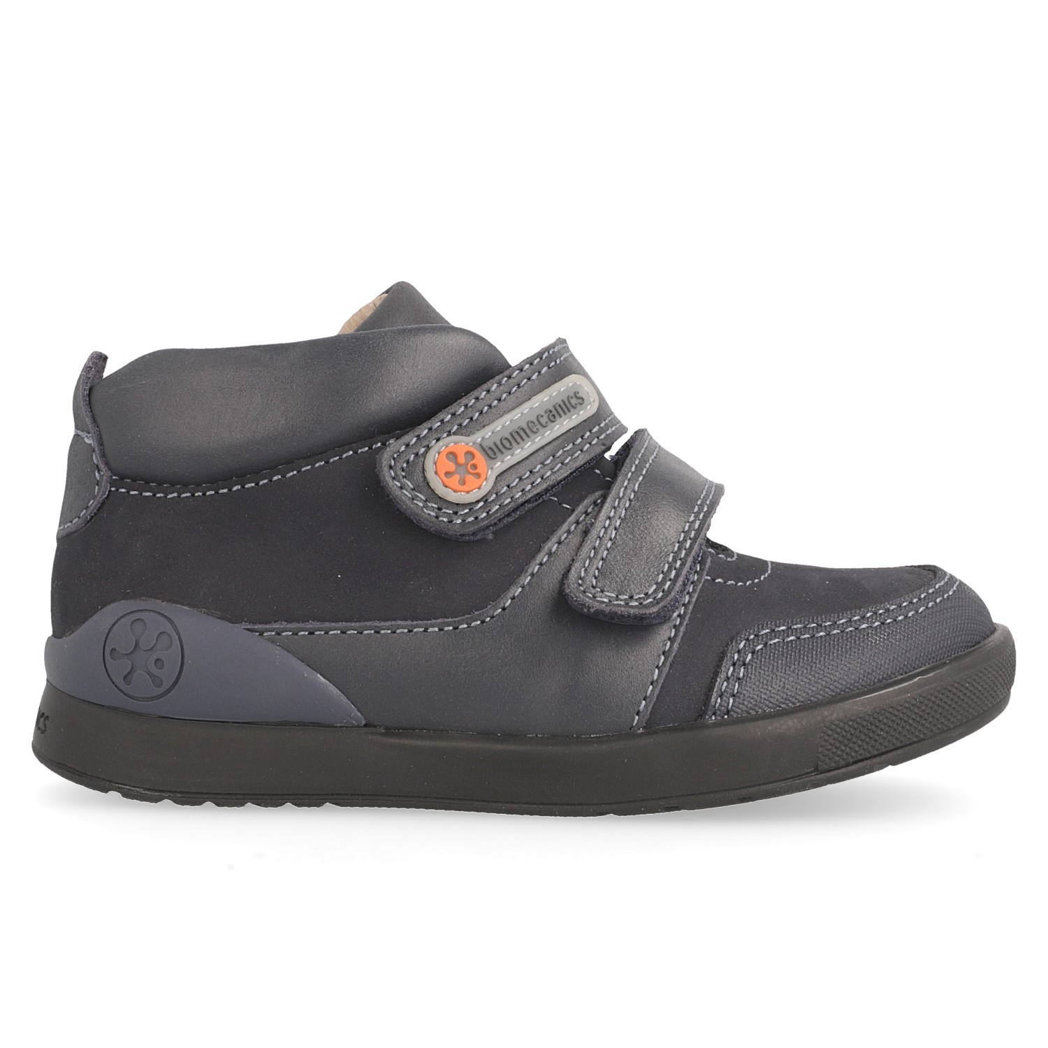 Boy´s leather boot-style shoe Francis