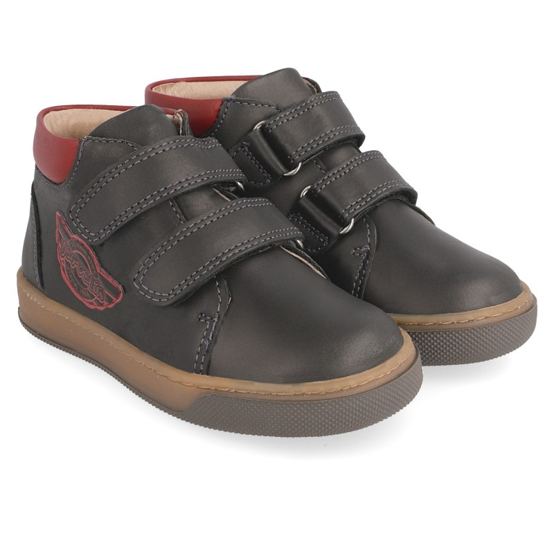 Boys´ leather booties Marco