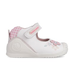 Leather baby girl shoes Erika