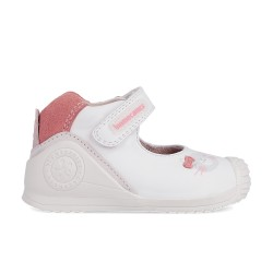 Leather baby girl shoes Gala