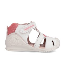 Leather sandals for baby girl Natalia