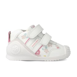 Leather sneakers for girl Inés