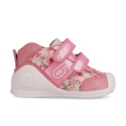 Leather sneakers for girl Audrey