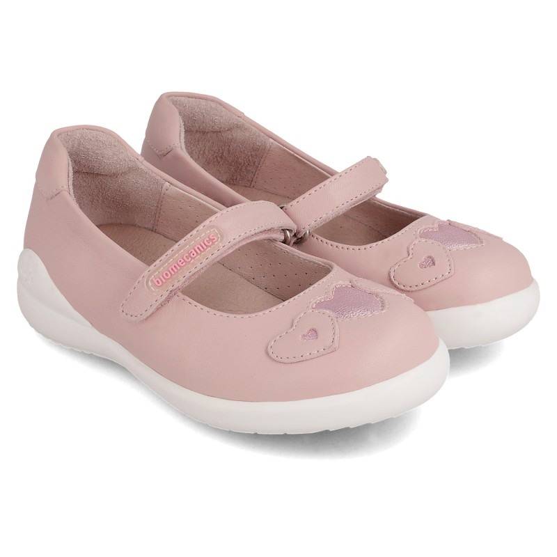 Leather shoes for girl Mar
