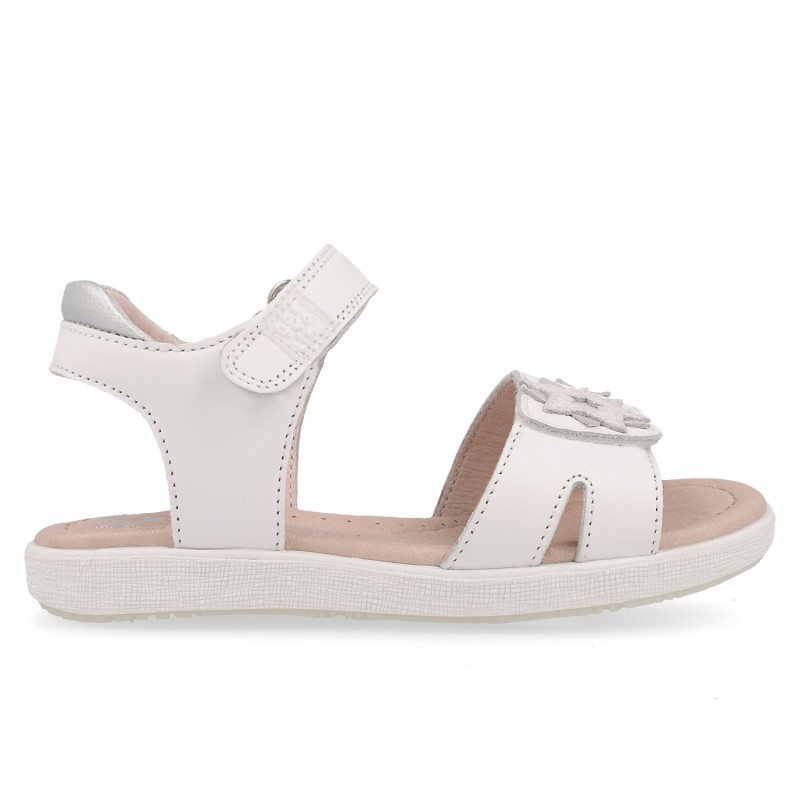 Leather sandals for girl Camila
