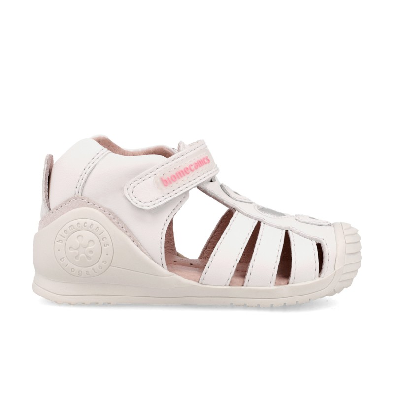 Leather sandals for baby girl Patty