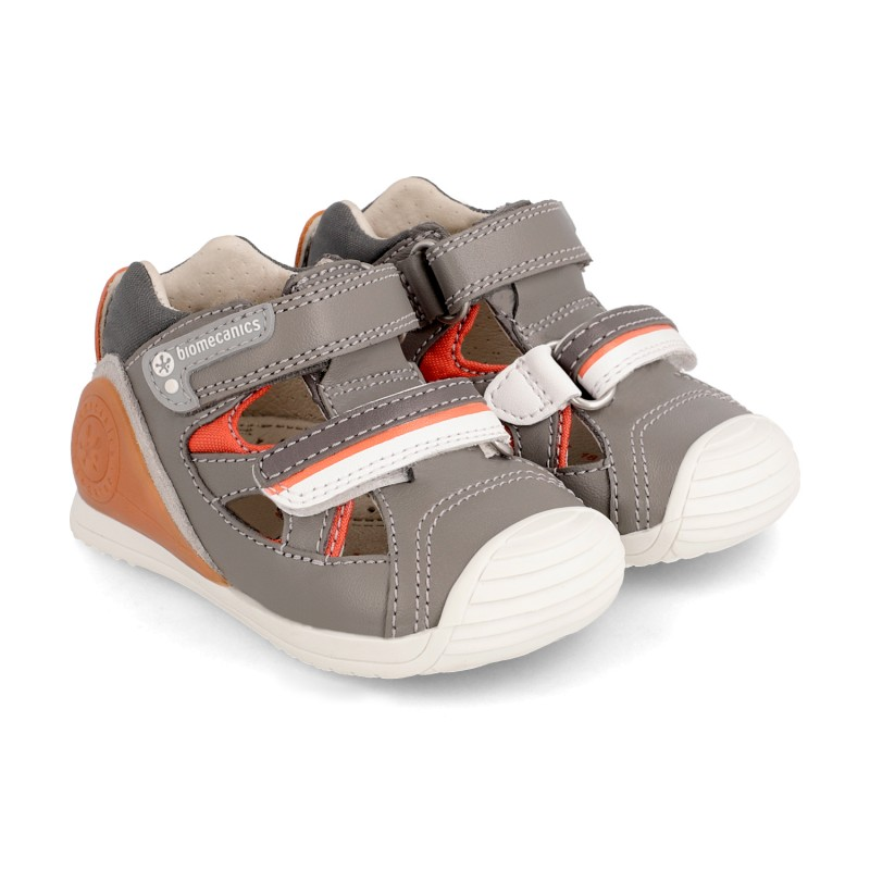 Leather shoes for baby boy Luca