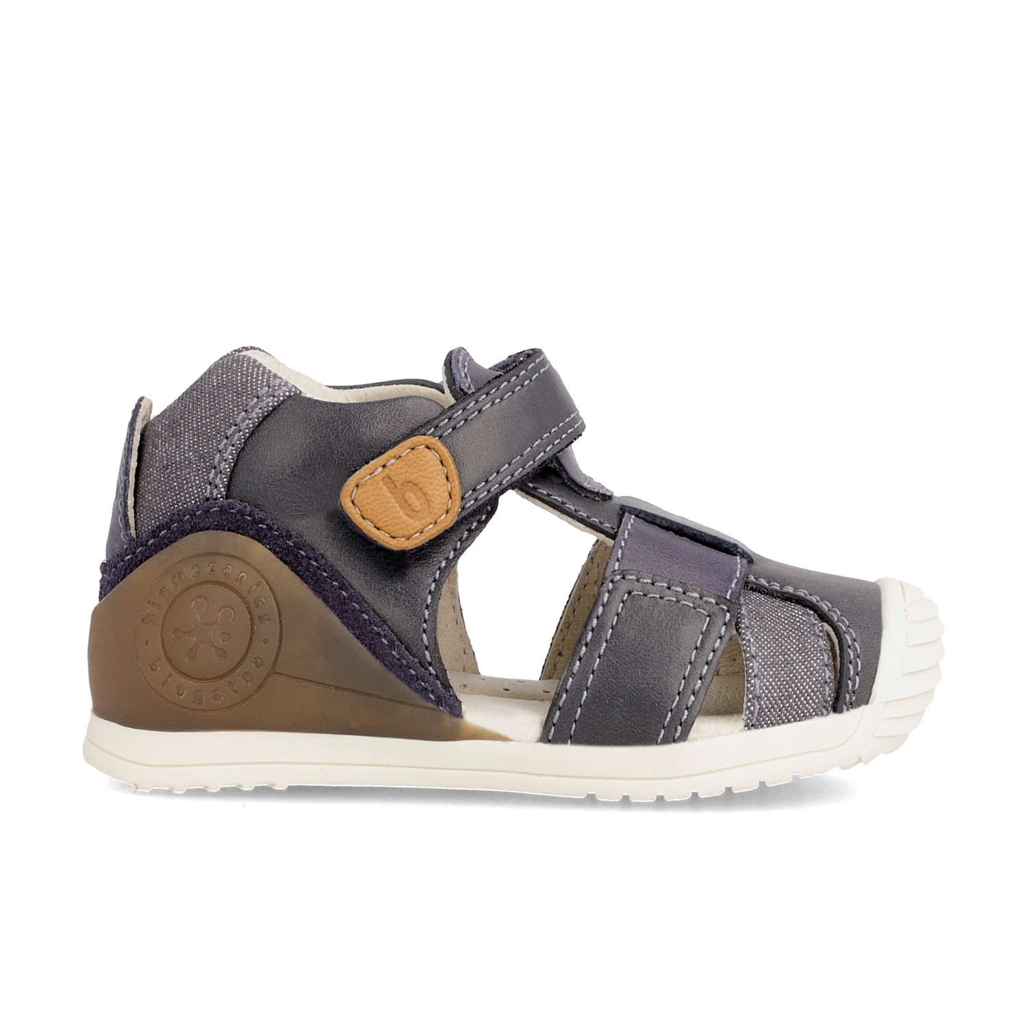 Leather sandals for baby boy Pietro