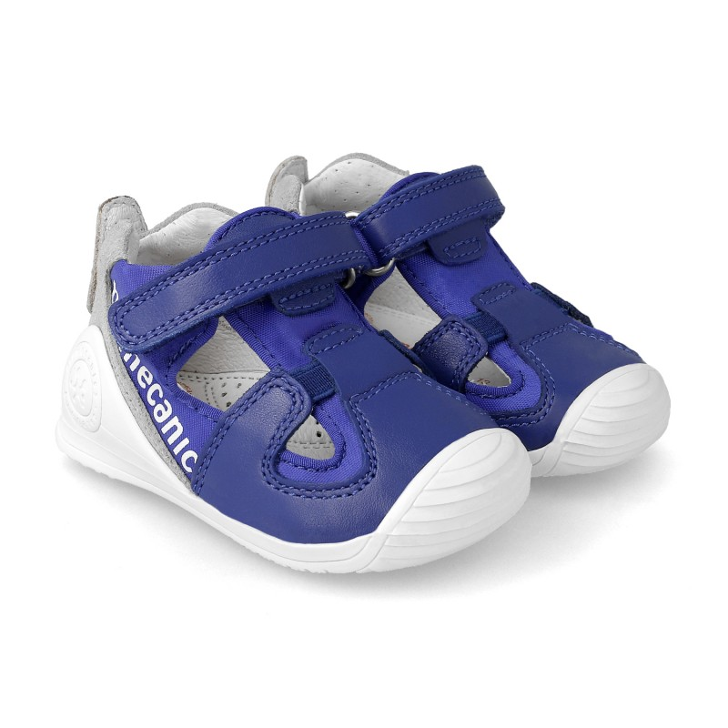 Leather sneakers for baby Dani