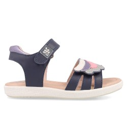 Leather sandals for girl Cayetana