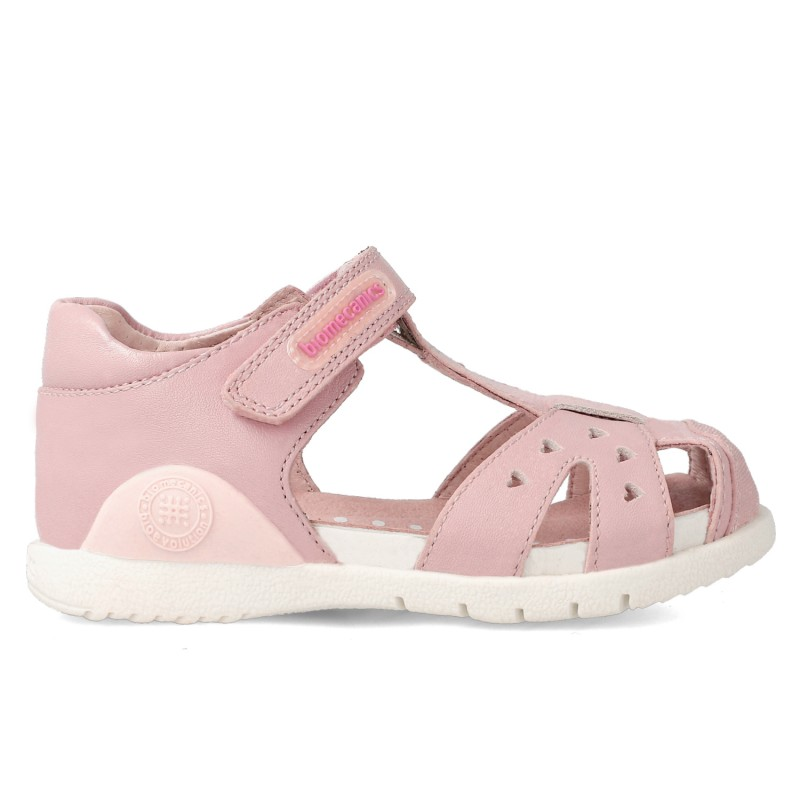 Leather sandals for girl Zaida