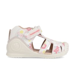 Leather sandals for baby girl Olga
