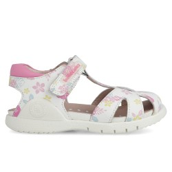 Leather sandals for girl Isabella