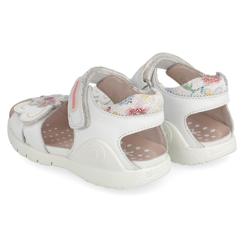 Leather sandals for girl Rania