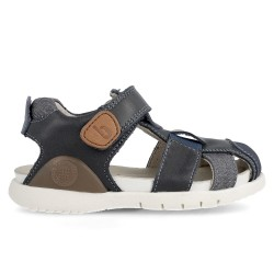 Leather sandals for boy Mika