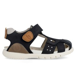 Leather sandals for boy Gon