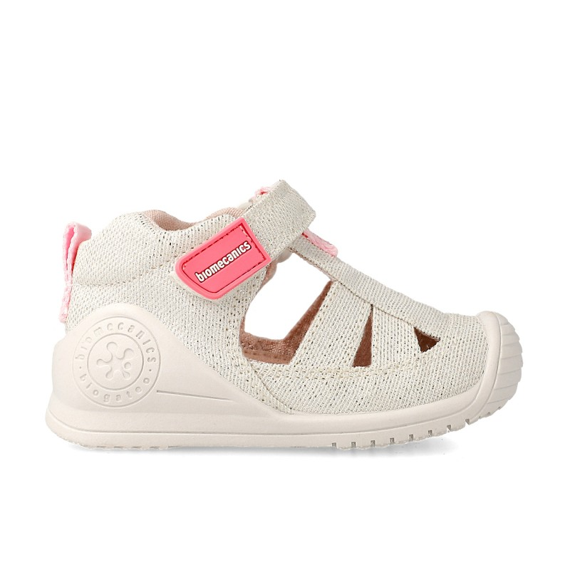 Canvas sneakers for baby girl Chantal