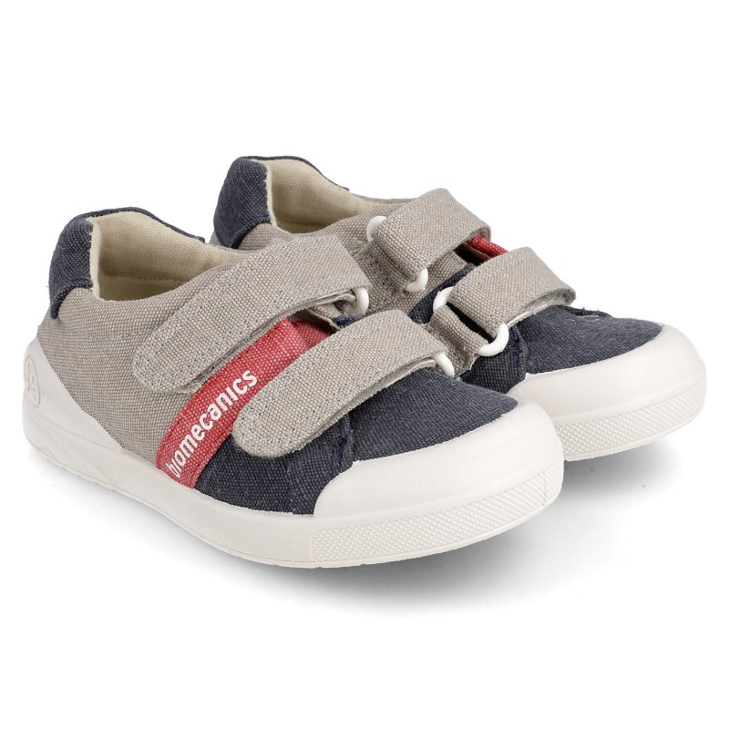 Canvas sneakers for boy Izan