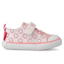 Canvas trainers for girl Leire