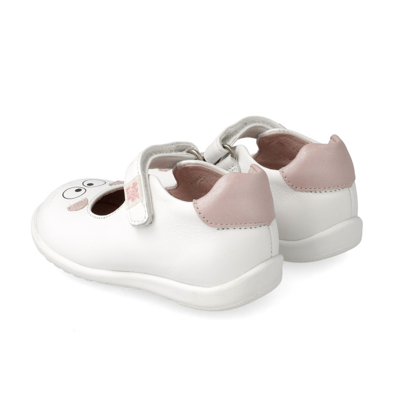 Leather shoes for girl Urdiñe