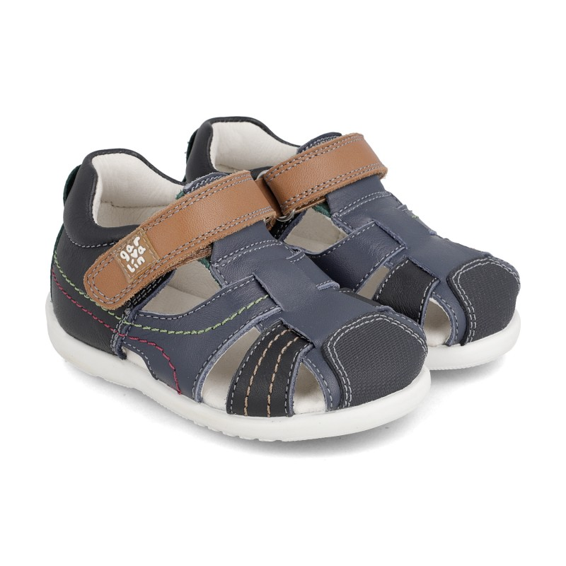 Leather sandals for boy Aritz