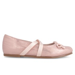 Leather Ballet pumps for girl Yasmina