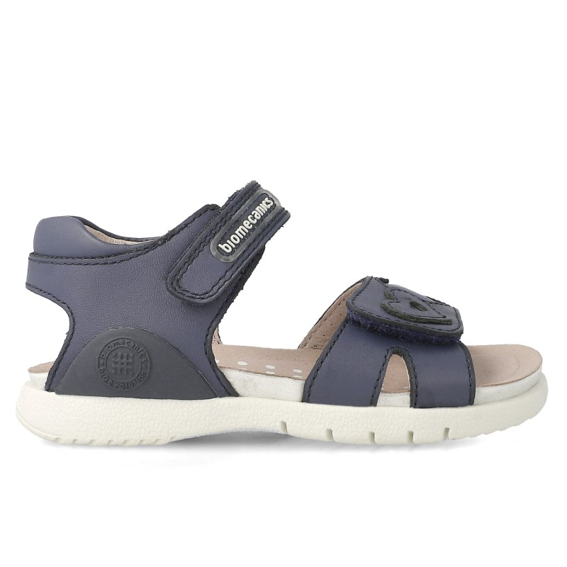 Leather sandals for girl Xana