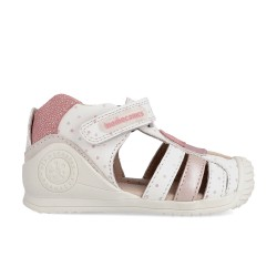 Girls leather sandals Rebeca