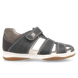 Leather sandals for boy Julen