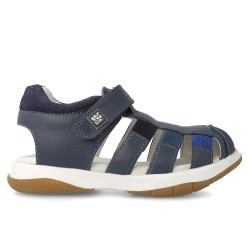 Leather sandals for boy Lucho