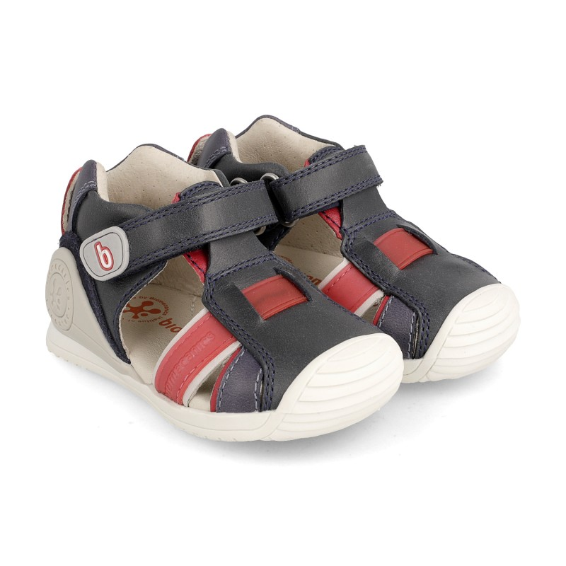 Leather sandals for baby boy Adamo