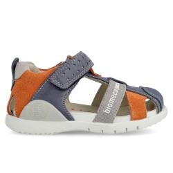 Leather sandals for boy Bruno