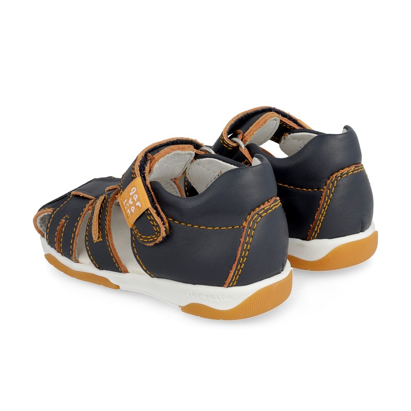 Leather sandals for boy Quim