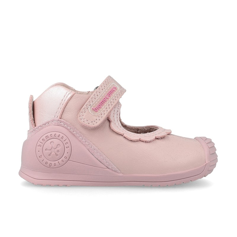 Leather baby girl shoes Celine