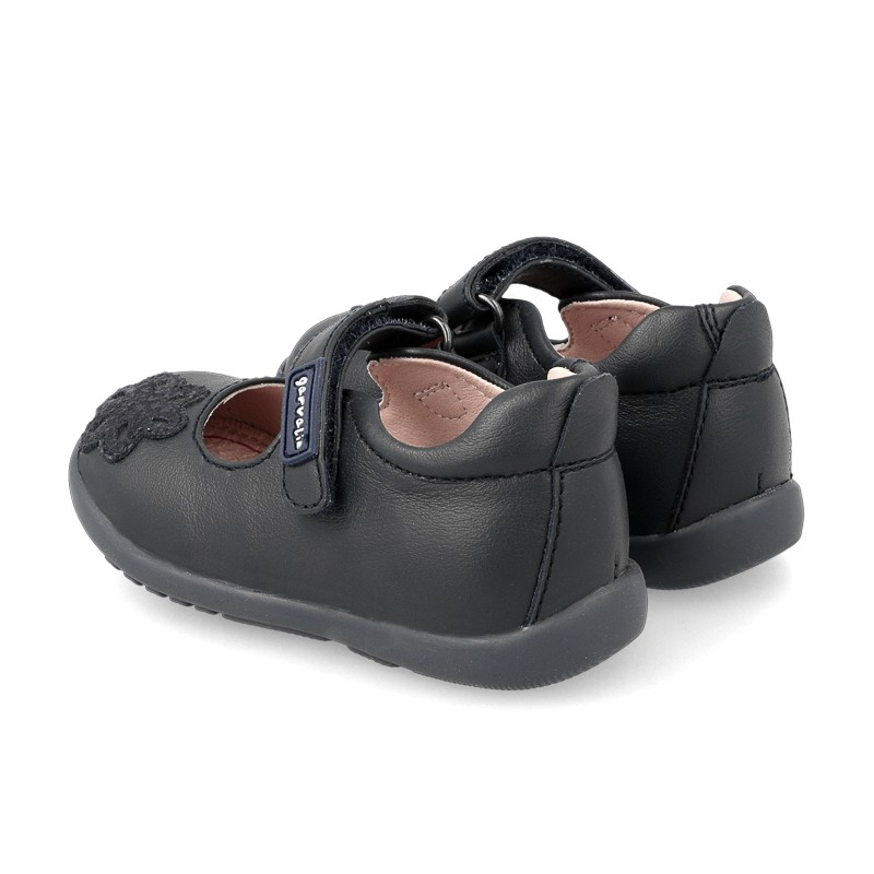 Leather Leather baby girl shoes