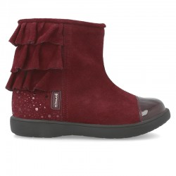Leather Ankle boot for girl