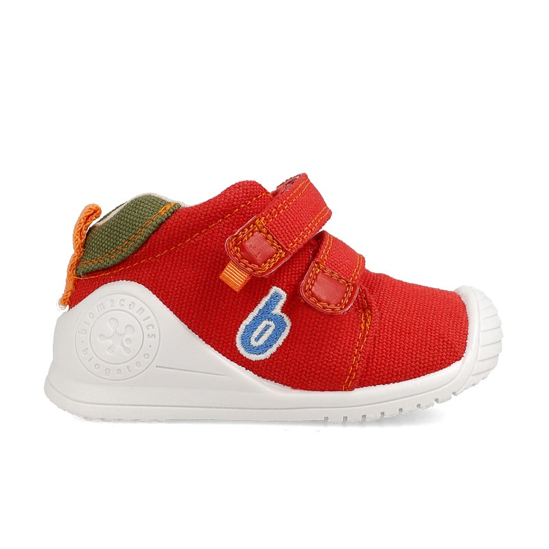 Canvas sneakers for baby Brian