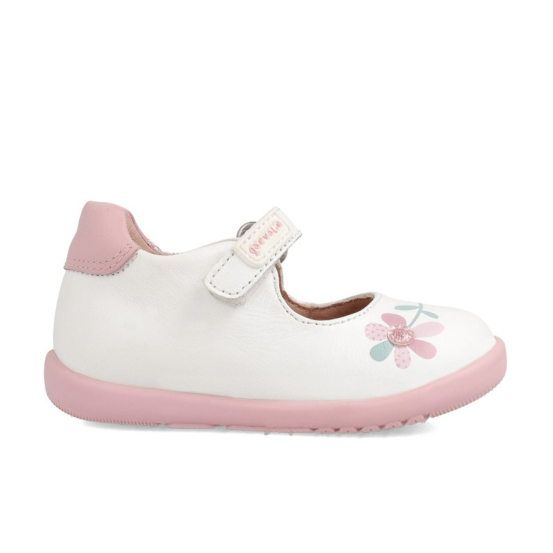 Leather shoes for baby girl Bibiana