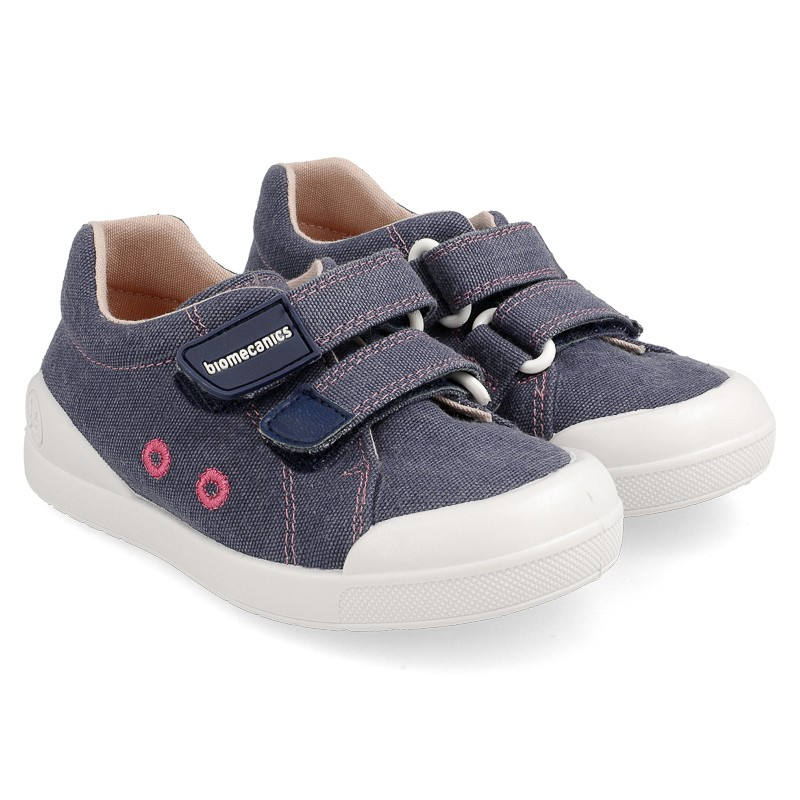 Canvas sneakers for girl Tasia