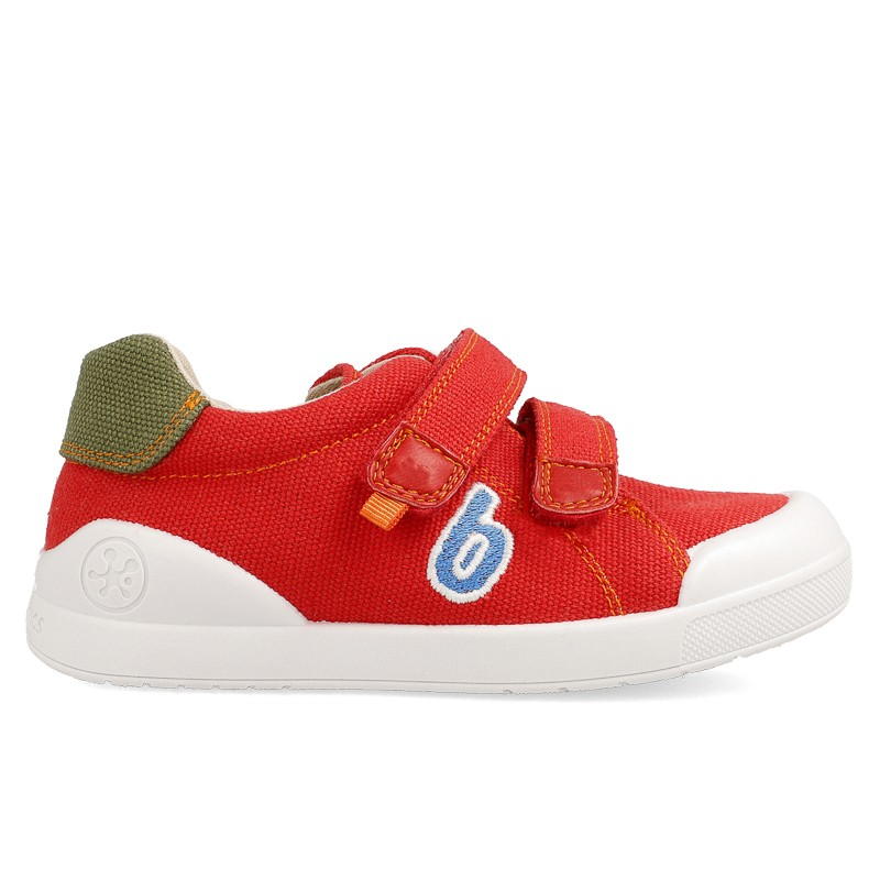 Canvas sneakers for boy Faber