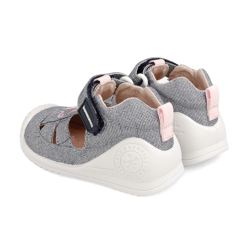 Canvas sneakers for baby Anïs