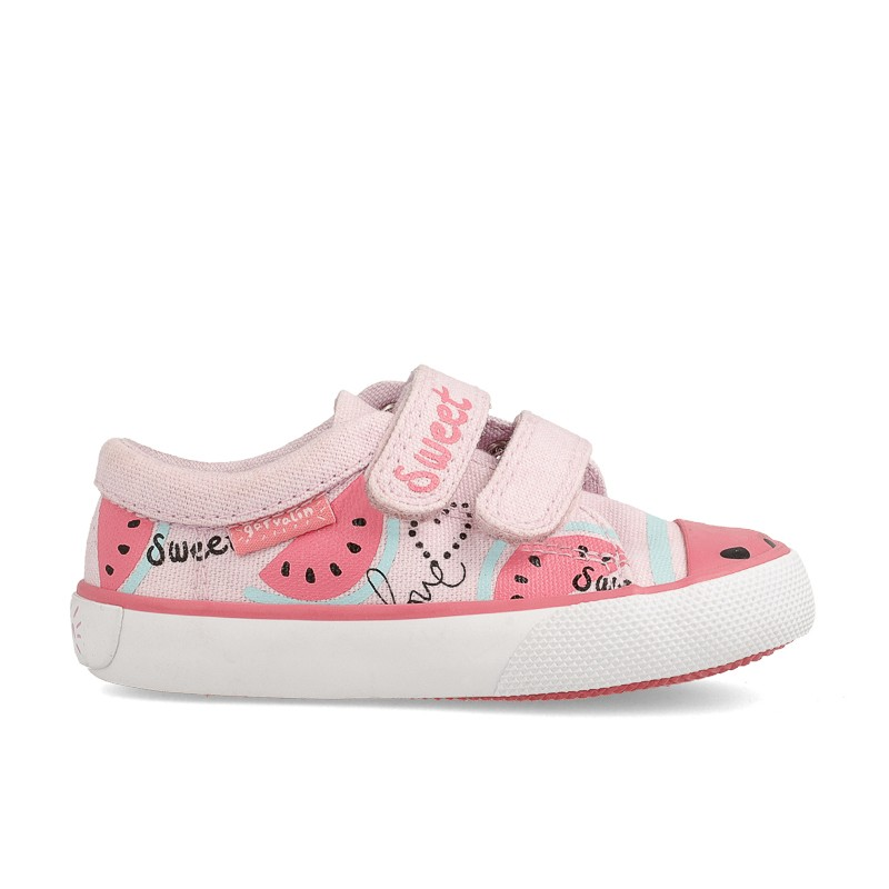 Canvas sneakers for girl Gina