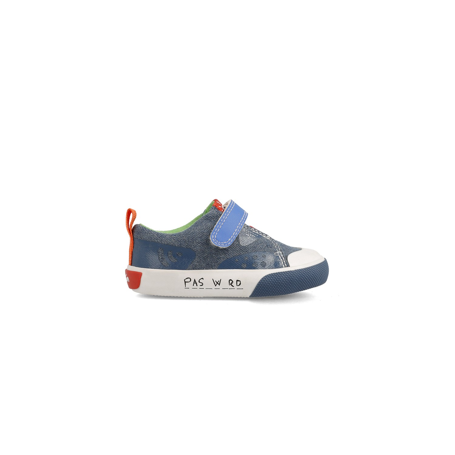 Canvas sneakers for boy Celso