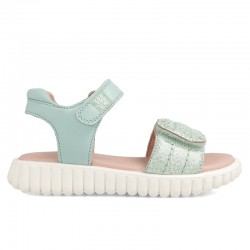 Leather sandals for girl Yemina