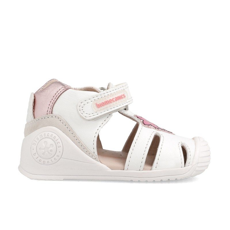Leather sandals for baby girl Luisa