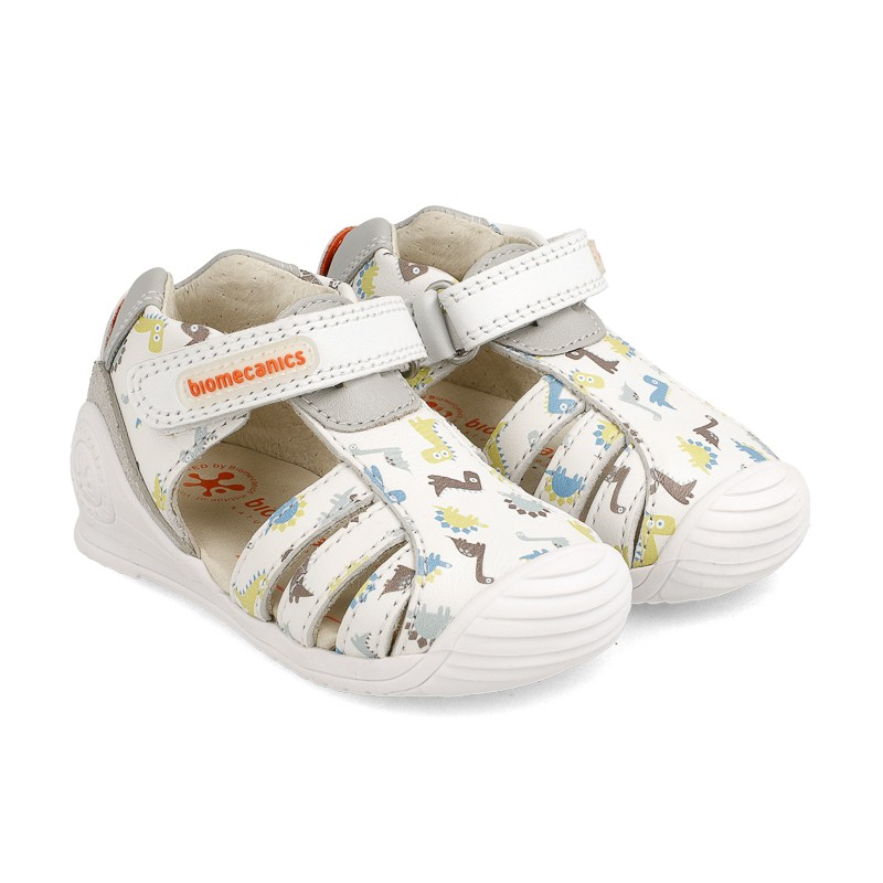Leather sandals for baby boy Andreu