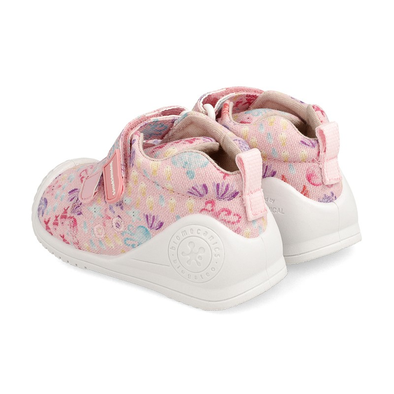 Canvas sneakers for baby Dalia
