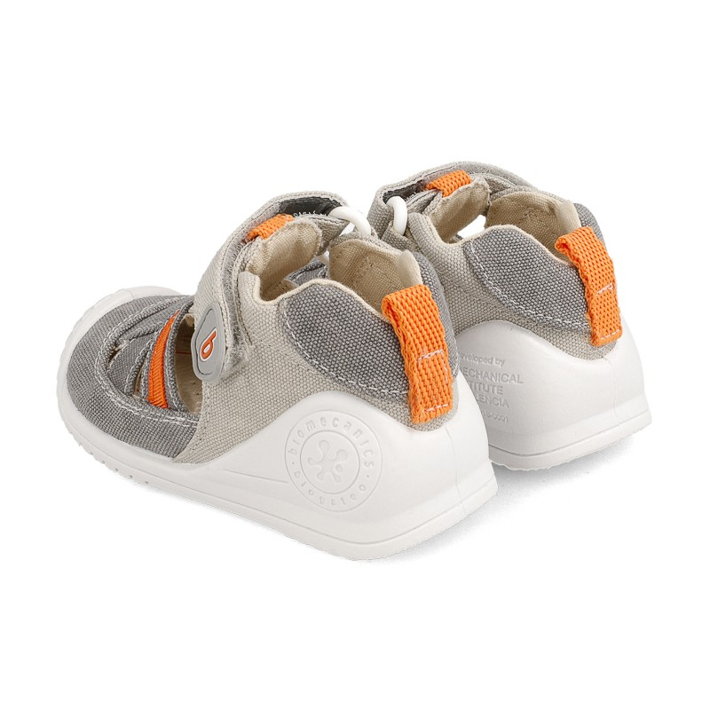 Canvas sneakers for baby Max