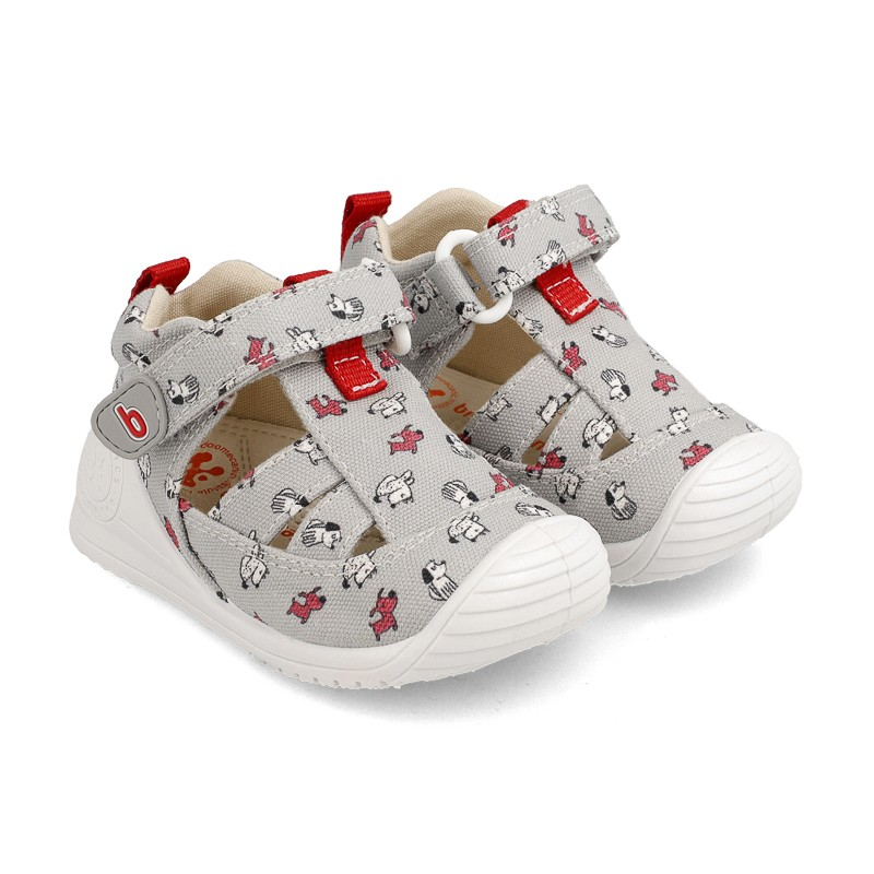 Canvas sneakers for baby Tadeo