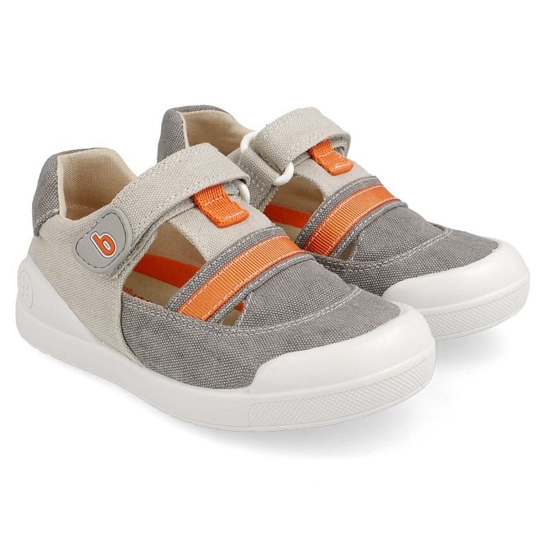 Canvas sneakers for boy Enzo